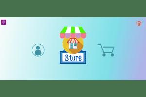 Seller store of Magento Multivendor Marketplace