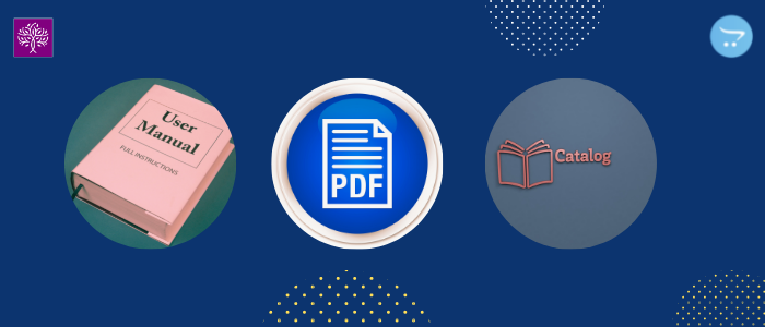 Manage PDF Title and Icon in Product PDF extension for Opencart