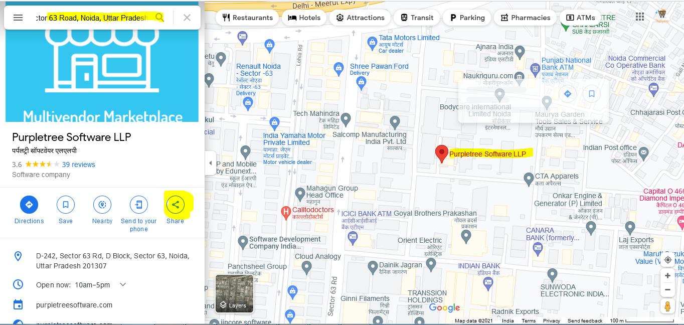 2 google map