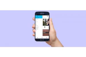 Left Menu in Mobile Application for Magento 2