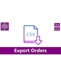 Export Orders with Filters for Opencart