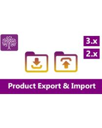 opencart bulk product export and import