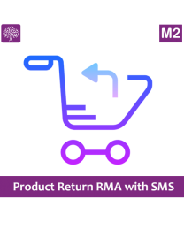 Product Return RMA with SMS for Magento 2