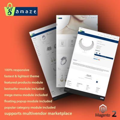 ShopAmaze - Multipurpose Responsive Magento 2 Theme