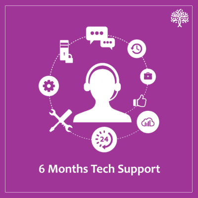 Technical Support for 6 months