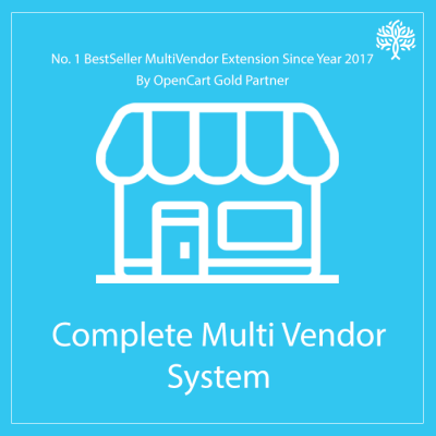 Complete Multi Vendor System for OpenCart
