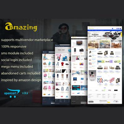 Amazing - Responsive Opencart 3 Theme