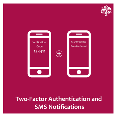 2 Factor Authentication, OTP and SMS Notifications