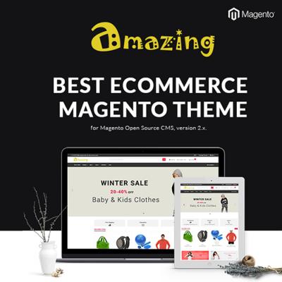 Amazing - Responsive Magento 2 Theme