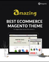 Amazing - Responsive Multivendor Marketplace Magento 2 Theme