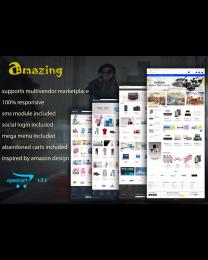 Amazing - Responsive Multivendor Marketplace Opencart Theme