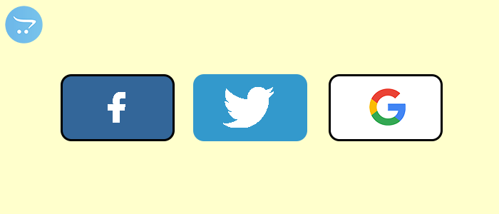 Setting up social login icons for Opencart
