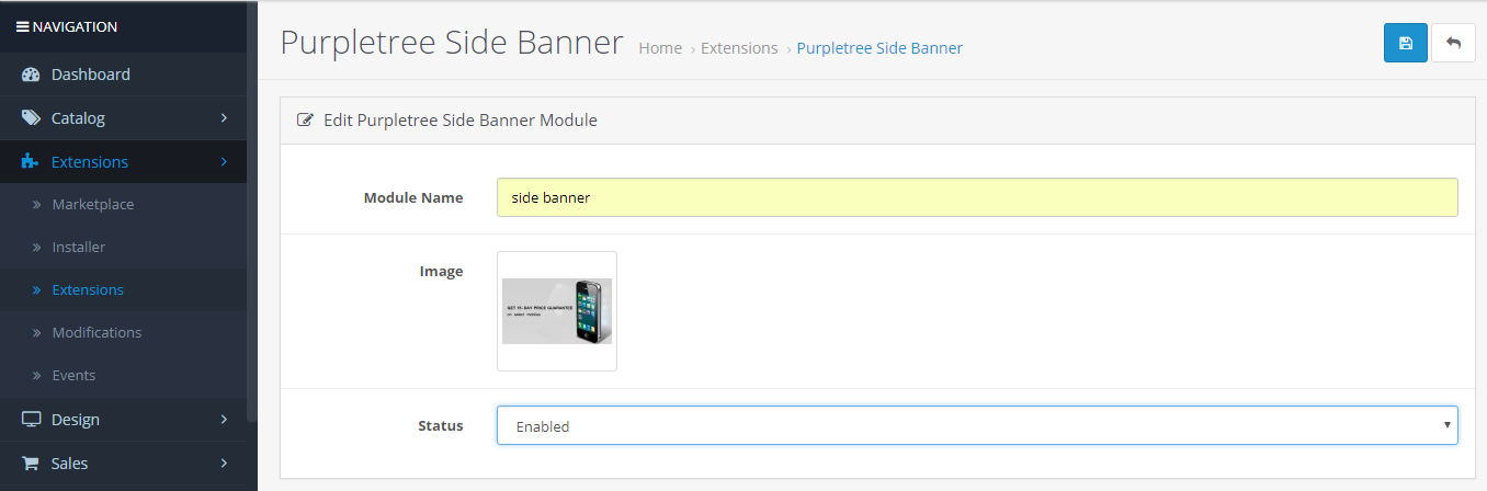 How to Add Slides and Banners in Opencart Amazing Theme
