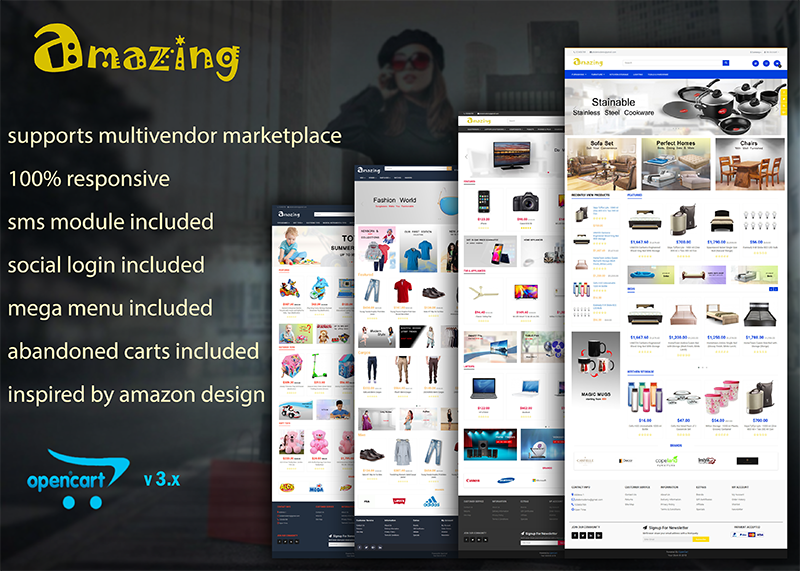 amazing opencart amazon theme