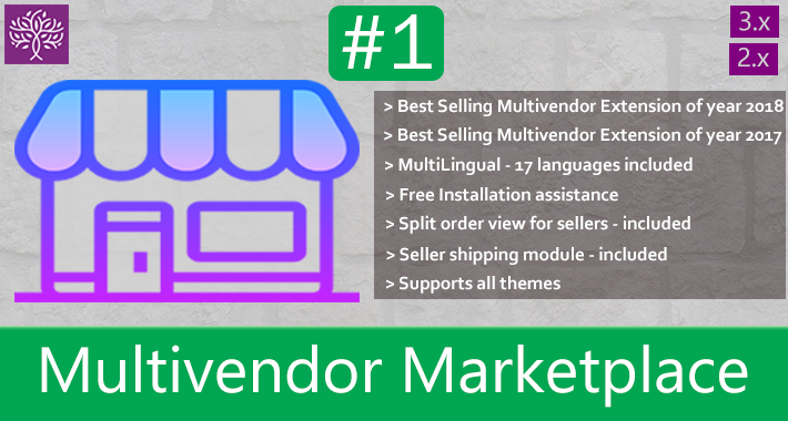Multivendor Marketplace for Opencart