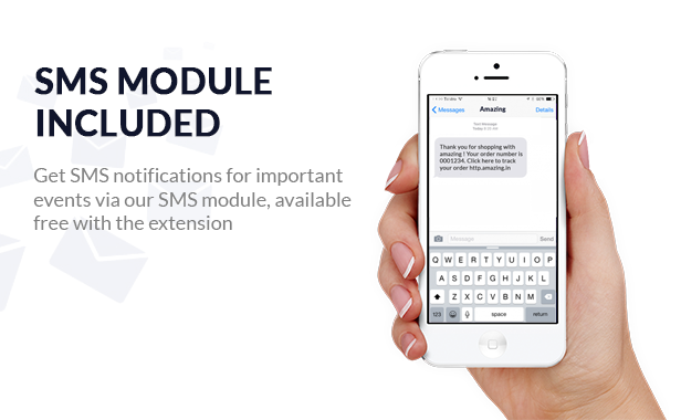 sms opencart